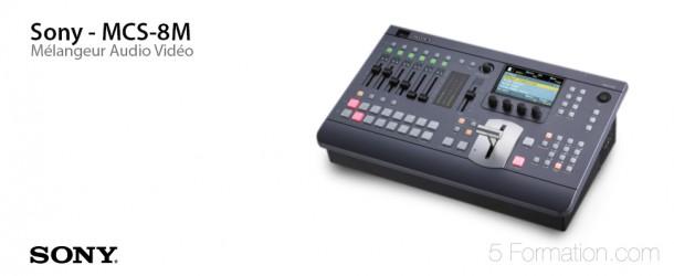 Sony MCS-8M Melangeur